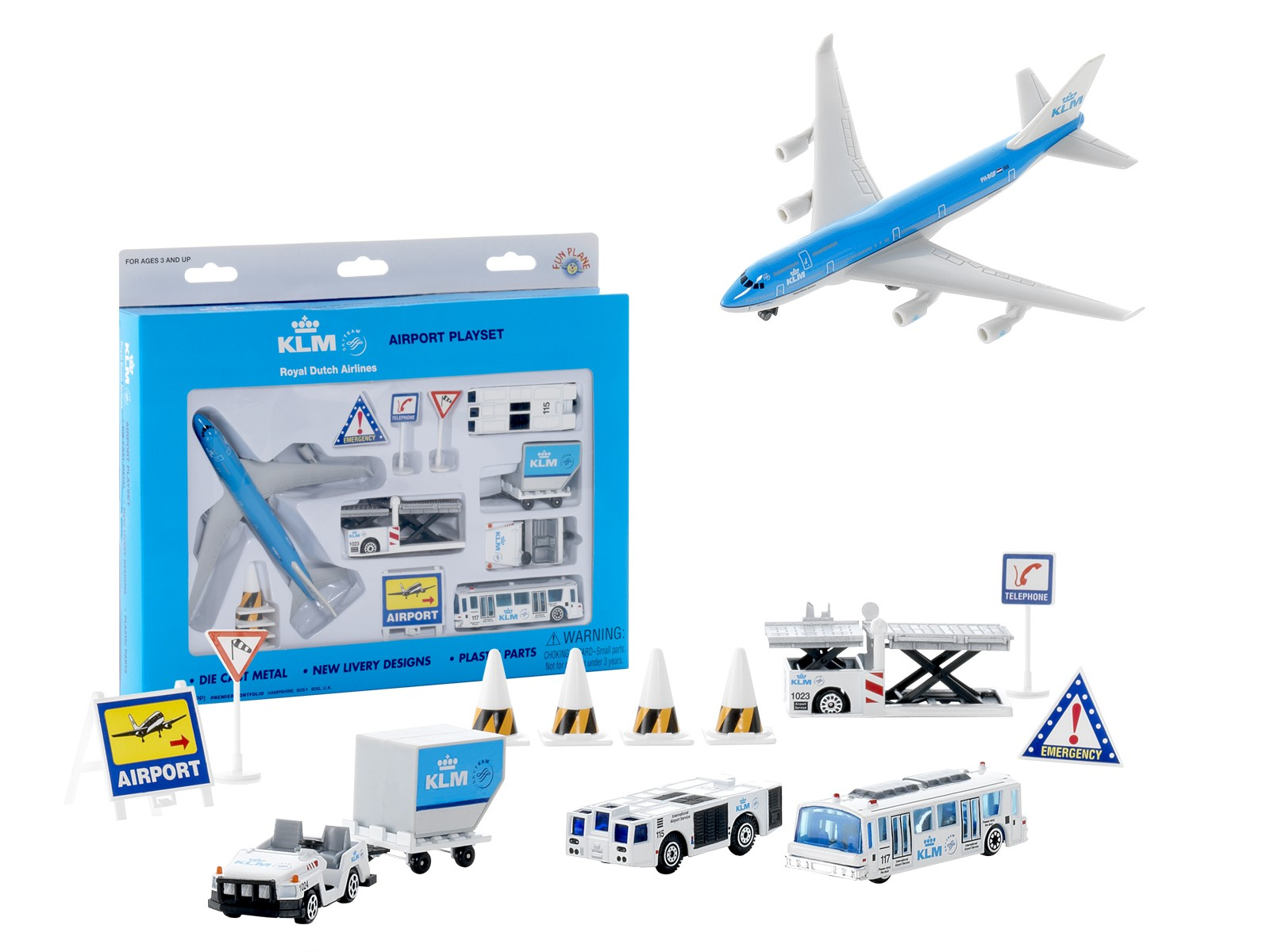 Daron Airport Playset - KLM Airlines | airplane collection ...