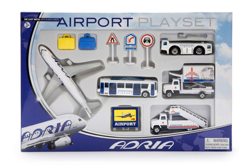 Airport Playset Kokoelma「KLM Air France A380」「British Airways ...